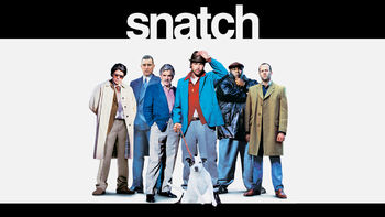 Netflix box art for Snatch