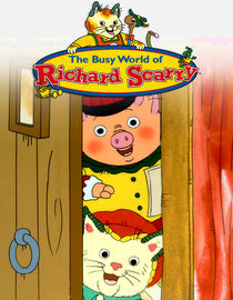 The Busy World of Richard Scarry: Season 5: Mr. Gronkle Moves Away / Counting Chickens / The Spelling Bee