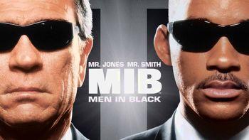 Netflix box art for Men in Black