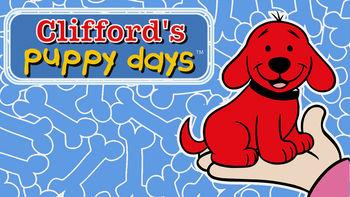 Netflix box art for Clifford's Puppy Days - Season 1