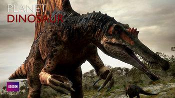 Netflix box art for Planet Dinosaur - Season 1