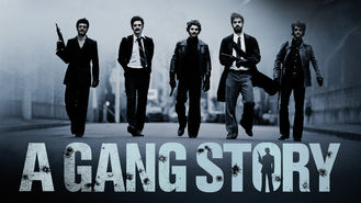 Netflix box art for A Gang Story