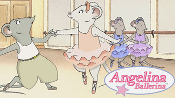Netflix box art for Angelina Ballerina - Season 1