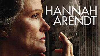 Netflix box art for Hannah Arendt