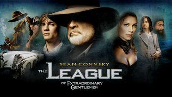 Netflix box art for The League of Extraordinary Gentlemen