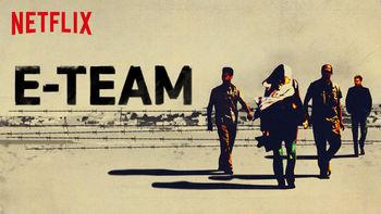 Netflix box art for E-Team