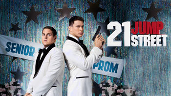 Netflix box art for 21 Jump Street