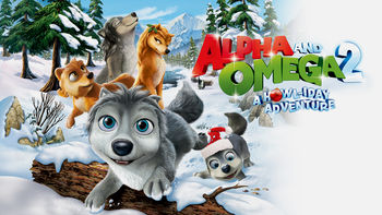 Netflix box art for Alpha and Omega: A Howl-iday Adventure