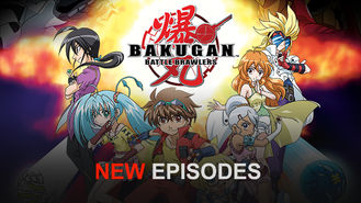 Netflix box art for Bakugan: Battle Brawlers - Season 2