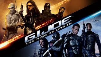 Netflix box art for G.I. Joe: The Rise of Cobra