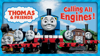 Netflix box art for Thomas & Friends: Calling All Engines