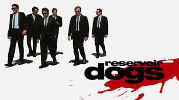 Netflix box art for Reservoir Dogs