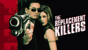 Netflix box art for The Replacement Killers