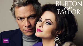 Netflix box art for Burton & Taylor