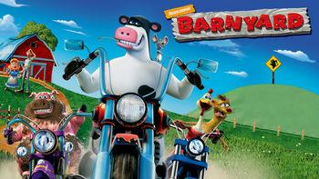 Netflix box art for Barnyard
