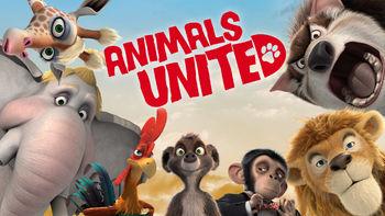 Netflix box art for Animals United