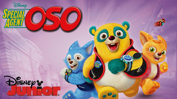 Netflix box art for Special Agent Oso - Season 1