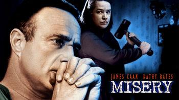 Netflix box art for Misery