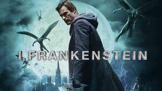 Netflix box art for I, Frankenstein