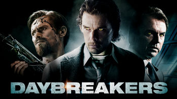 Netflix box art for Daybreakers