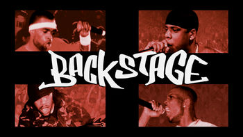 Netflix box art for Backstage