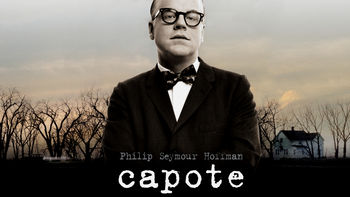 Netflix box art for Capote