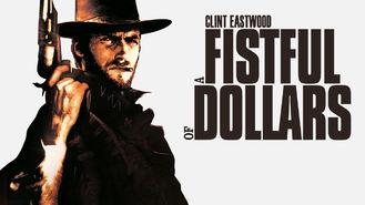 Netflix box art for A Fistful of Dollars
