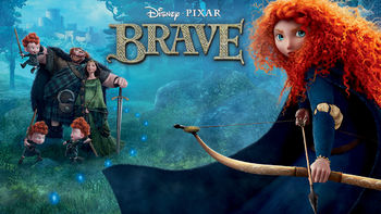 Netflix box art for Brave