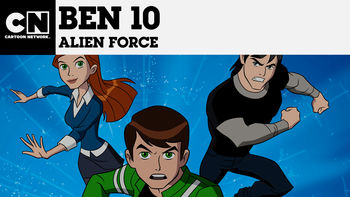 Netflix box art for Ben 10: Alien Force - Season 1