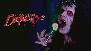Netflix box art for Night of the Demons 2