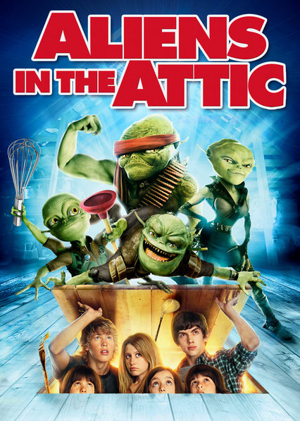 Aliens in the Attic Netflix ES (España)