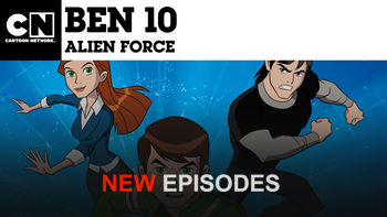 Netflix box art for Ben 10: Alien Force - Season 4
