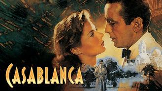 Netflix box art for Casablanca