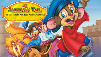 Netflix box art for An American Tail: Night Monster