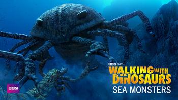 Netflix box art for Walking with Dinosaurs: Sea Monsters - Season 1