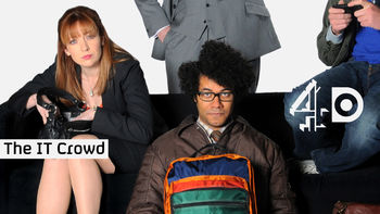 Netflix box art for The IT Crowd - Series 1