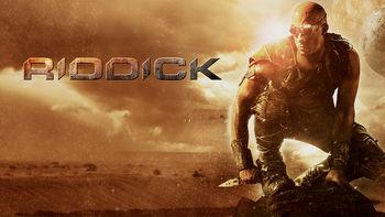 Netflix box art for Riddick
