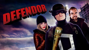 Netflix box art for Defendor