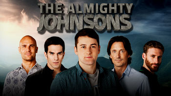 Netflix box art for The Almighty Johnsons - Season 1