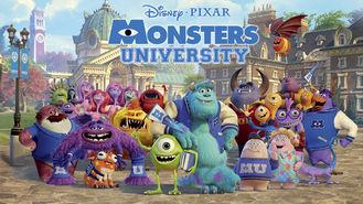 Netflix box art for Monsters University