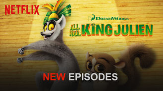 Netflix box art for All Hail King Julien - Season 2