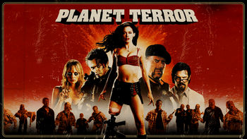 Netflix box art for Grindhouse: Planet Terror