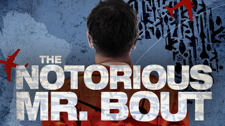 Netflix box art for The Notorious Mr. Bout