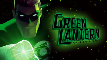 Netflix box art for Green Lantern: The Animated Series - Season 1