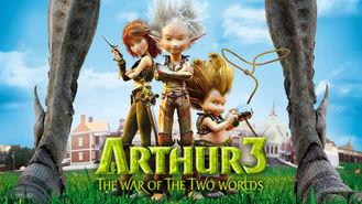 Netflix box art for Arthur 3: The War of the Two Worlds