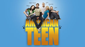 Netflix box art for American Teen