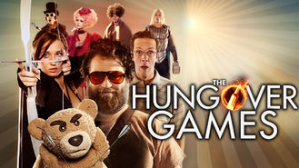Netflix box art for The Hungover Games