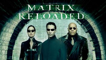 Netflix box art for The Matrix Reloaded