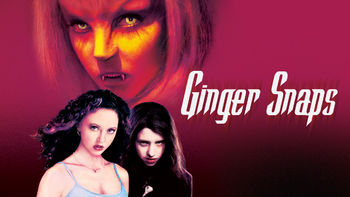Netflix box art for Ginger Snaps