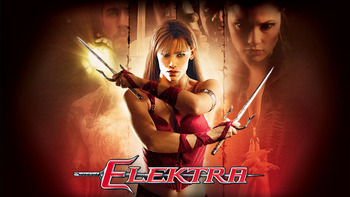 Netflix box art for Elektra